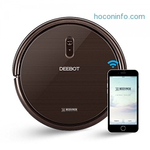 ihocon: ECOVACS DEEBOT N79S Robot Vacuum Cleaner with Max Power Suction, Alexa Connectivity, App Controls, Self-Charging for Hard Surface Floors & Thin Carpets吸地機器人