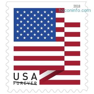 快! USPS Forever郵票$15 off $75, 160張郵票才$65