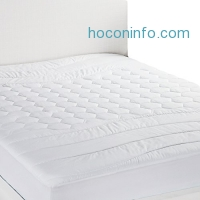 ihocon: Bedsure Twin Size Hypoallergenic Ultra Soft Mattress Pad