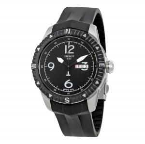 ihocon: Tissot T-Navigator Automatic Black Dial Men's Watch T0624301705700 天梭男錶