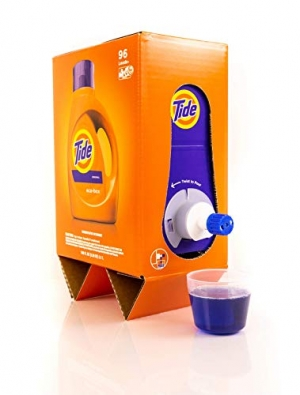 ihocon: Tide Liquid Laundry Detergent Eco-Box, Original Scent, 105 fl oz, 96 Loads  洗衣精