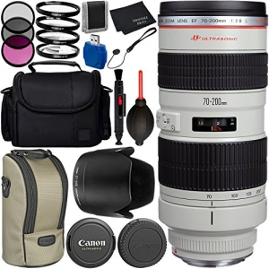 ihocon: Canon EF 70-200mm f/2.8L USM Lens Bundle with Manufacturer Accessories & Accessory Kit