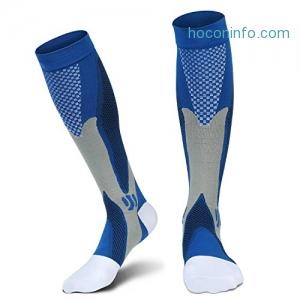 ihocon: Graduated Compression Socks(20-30 mmHg) L/XL for Men Women壓力襪
