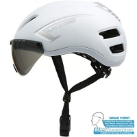 ihocon: BASE CAMP AIRCROSS Road Bike Helmet with Detachable Shield Visor - Size 21.25-22.83 Inches  運動安全頭盔, 含可拆式遮陽鏡