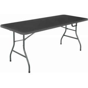 ihocon: Cosco 6' Centerfold Table, Multiple Colors