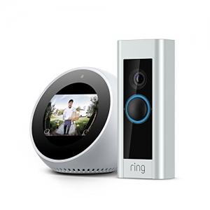 ihocon: Echo Spot - White + Ring Video Doorbell Pro