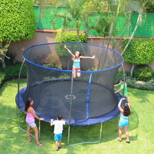 ihocon: Bounce Pro 14-Foot Trampoline, with Safety Enclosure 彈跳床