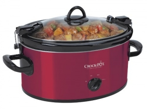 ihocon: Crock-Pot 6-Quart Cook & Carry Oval Manual Portable Slow Cooker慢燉鍋