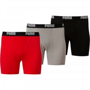 ihocon: Puma Licence Men's 100% Cotton Boxer Briefs [3 Pack]  男士純棉內褲