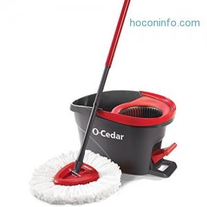 ihocon: O-Cedar EasyWring Microfiber Spin Mop and Bucket 旋轉拖把+水桶