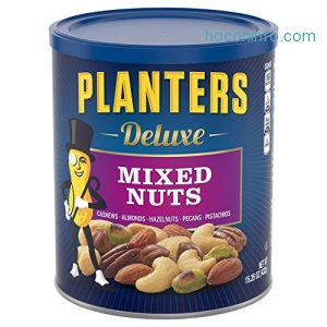 ihocon: Planters Deluxe Mixed Nuts, 15.25 Ounce Canister
