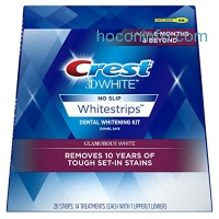ihocon: Crest 3D 牙齒美白貼片 White Glamorous White Whitestrips Dental Teeth Whitening Strips Kit, 14 Treatments
