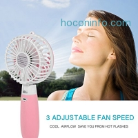 ihocon: Allkeys Mini Personal Fan Rechargeable充電式手持風扇