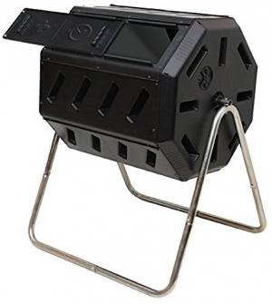 ihocon: Yimby Tumbler Composter, Color Black 堆肥製作桶