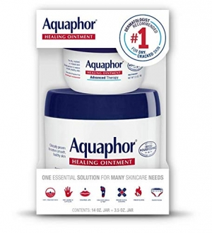 ihocon: Aquaphor Advanced Therapy Healing Ointment 14 Ounce + 3.5 Ounce