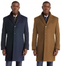 ihocon: Executive Collection Tailored Fit Overcoat - 多色可選