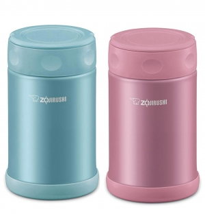ihocon: Zojirushi SW-EAE50AB Stainless Steel Food Jar, 17-Ounce/0.5-Liter 不銹鋼保温便當