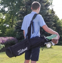 ihocon: Titleist Sunday Golf Carry Bag高爾夫球袋