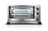 ihocon: Toshiba MC25CEY-SS Mechanical Oven with Convection/Toast/Bake/Broil Function小烤箱