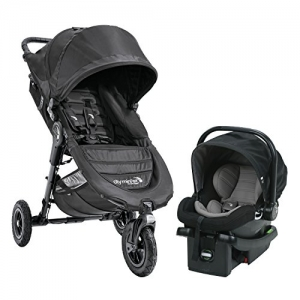 ihocon: Baby Jogger City Mini GT Travel System, Black 推車+嬰兒坐椅