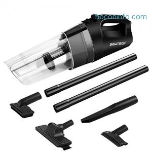 ihocon: Sowtech Cordless Handheld Vacuum (Black)無線手持吸塵器