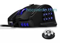 ihocon: UtechSmart Venus 16400 DPI High Precision Laser MMO Gaming Mouse遊戲滑鼠