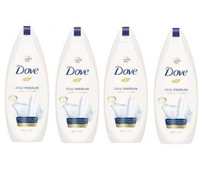 Dove Body Wash 沐浴乳 4瓶 $13.04免運(原價$18.63)