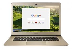 ihocon: Acer Chromebook 14, 14-inch Full HD, Intel Celeron N3160, 4GB LPDDR3, 32GB, Chrome, Gold, CB3-431-C0AK