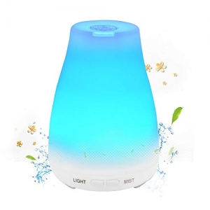 ihocon: Essential Ultrasonic Diffusers / Cool Mist Humidifier LED 7色精油擴香機/室內加濕器