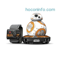 ihocon: Sphero R001SUS Star Wars BB-8 App Controlled Robot with Star Wars Force Band