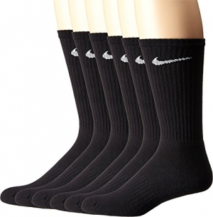 ihocon: NIKE Performance Cushion Crew Socks with Band (6 Pairs)