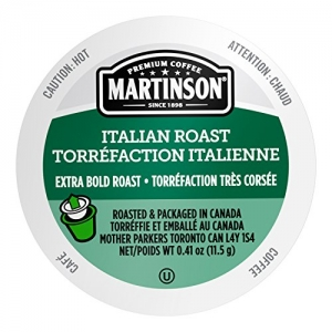 ihocon: Martinson Single Serve Coffee Capsules, Italian Roast, 48 Count 咖啡膠囊