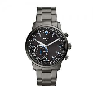ihocon: Fossil Men's Goodwin Stainless Steel Hybrid Smartwatch智能錶