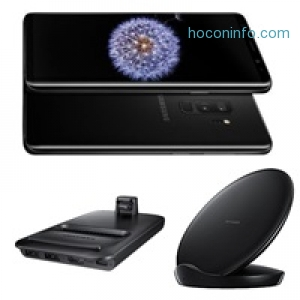 ihocon: Samsung Galaxy S9, DeX Pad, and Fast Charge Wireless Charger Stand