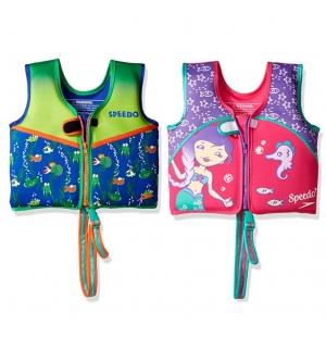 Speedo UPF 50+兒童游泳學習浮力背心 $15.24(原價$17.93)