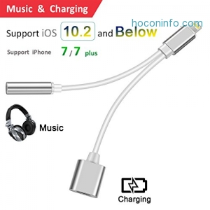 ihocon: Zwirelz 2 in 1 Lightning iPhone 7 Adapter