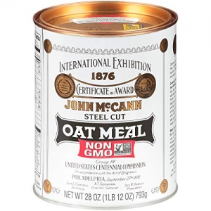 McCann's Steel Cut 燕麥片 28oz 4罐 $21.69免運(原價$30.99, 30% Off)
