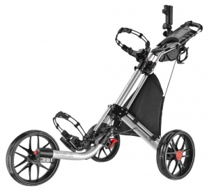 ihocon: CaddyTek EZ-Fold 3 Wheel Golf Push Cart 3輪高爾夫球袋推車