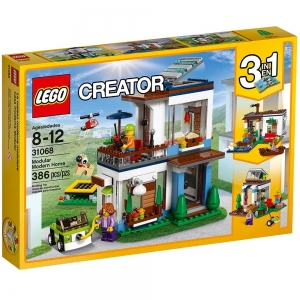ihocon: LEGO Creator Modular Modern Home 31068 Building Kit (386 Piece)