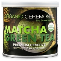 ihocon: Matcha DNA Certified Organic Ceremonial Grade Matcha Green Tea, TIN CAN (3 Ounce)  有機抹茶粉