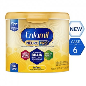 ihocon: Enfamil NeuroPro Infant Formula - Brain Building Nutrition Inspired by Breast Milk, 20.7 oz (Pack of 6)  嬰兒奶粉