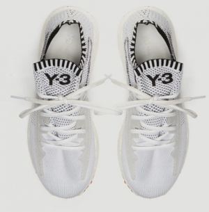 ihocon: Y-3 Raito Racing Sneakers in White 男士運動鞋