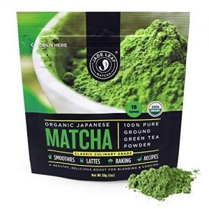 ihocon: Jade Leaf Matcha 30g Green Tea Powder, USDA Organic有機日本抹茶粉