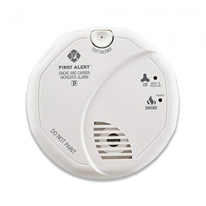 ihocon: First Alert Powered Alarm SCO5CN Combination Smoke and Carbon Monoxide Detector, Battery Operated, 1 Pack 偵煙及一氧化碳偵測警報器