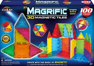 ihocon: Cra-Z-Art Magrific Magnetic Set (100-Piece) 磁性積木