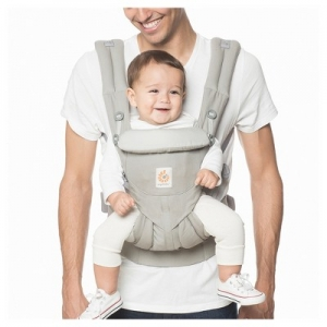 ihocon: Ergobaby Omni 360 All Carry Positions Ergonomic Baby Carrier - Pearl Gray嬰兒背袋
