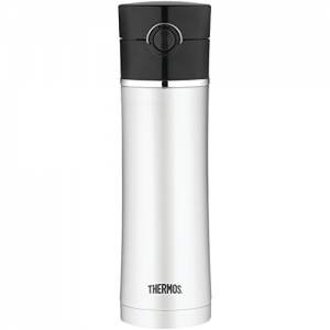 ihocon: Thermos Sipp 16-Ounce Drink Bottle, Black 保温瓶