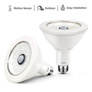 ihocon: Sengled Smartsense PAR38 3000K LED Waterproof Security Floodlight with Built-In Motion Detector, 2 Pack 動作感應燈泡