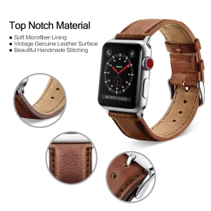 ihocon: Benuo Apple Watch 真皮錶帶 Genuine Leather Strap