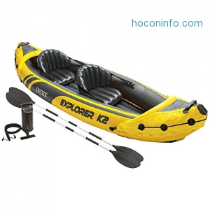 ihocon: Intex 2-Person Inflatable Kayak Set 充氣橡皮艇
